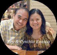 Rey & Cynthia Evasco, Pastor of Luzon Congregations